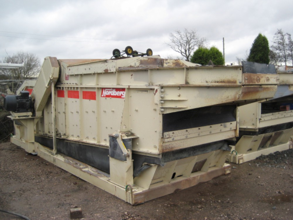VIBRATING SCREEN 2 DECK HORIZONTAL - HEAVY MACHINERY VIQA DMCC