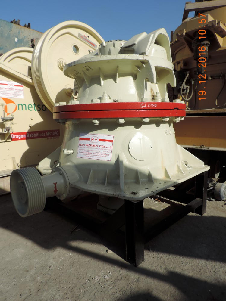 CONE CRUSHER METSO LOKOMO - HEAVY MACHINERY VIQA DMCC
